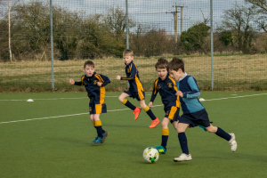 The Grove U8 Football vs Beachborough School