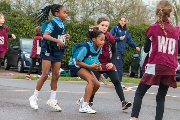 The Grove U9 Netball vs Ashfold school
