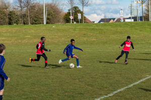 The Grove Colts Boys Football vs Broughton Manor