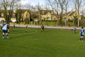 Beachborough School U9 Football Triangular