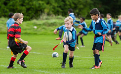The Grove U8 Rugby vs Quinton House School