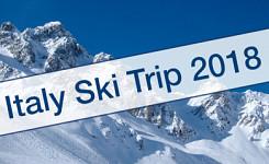 Italy Ski Trip 2018