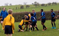 The Grove U11 Rugby vs Beachborough School